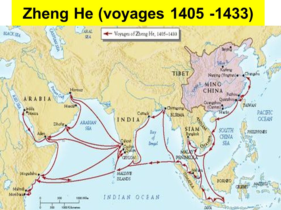 why should zheng hes voyages be Furthermore, the voyages of zheng he should be celebrated because of the size of his treasure ships/fleets a treasure ship back in the 1400's was estimated to be 440 feet long and 180 feet wide larger than an american football field which is 300 yards (doc c.