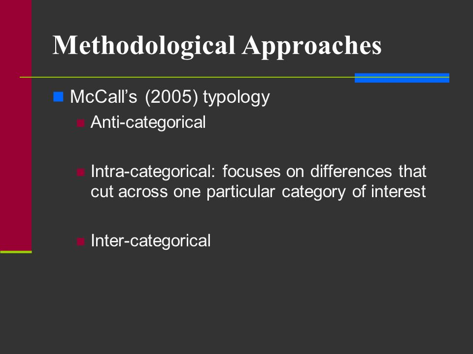 Methodological Approaches