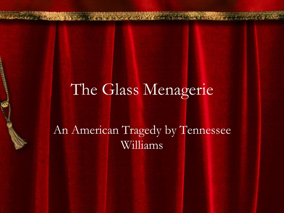 the use of symbols in the glass menagerie by tennessee williams