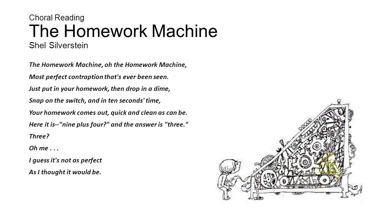 Make a homework machine