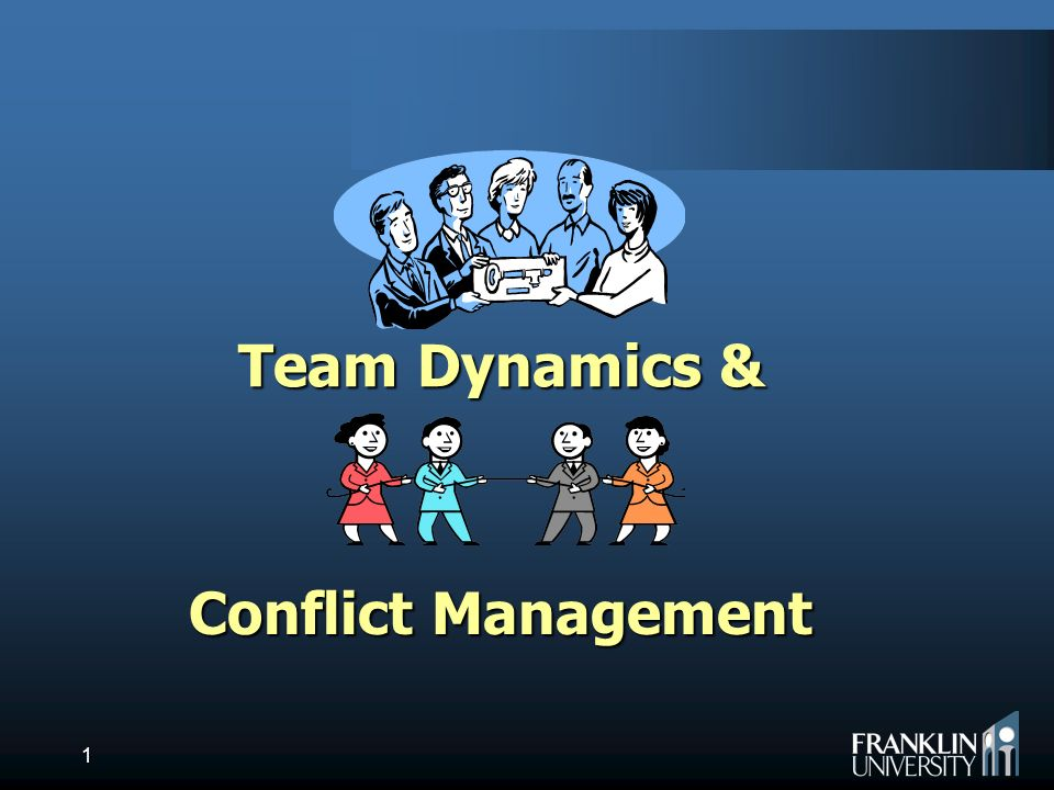 Conflict Resolution / Team Dynamics Essay Sample