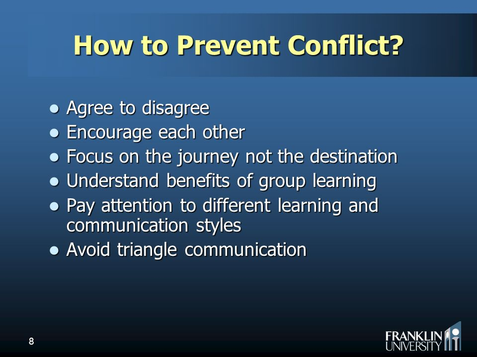 Communication on this topic: How to Avoid Conflict at Work, how-to-avoid-conflict-at-work/