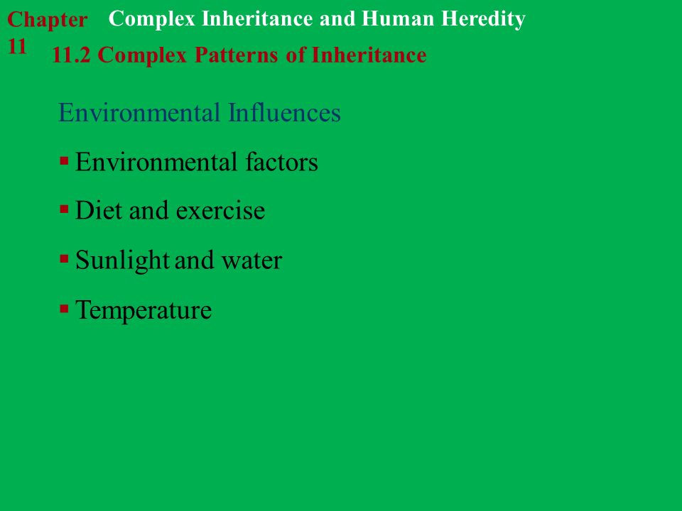 genetic and environmental influences on human Nature and nurture: the complex interplay of genetic and environmental influences on human behavior and development.