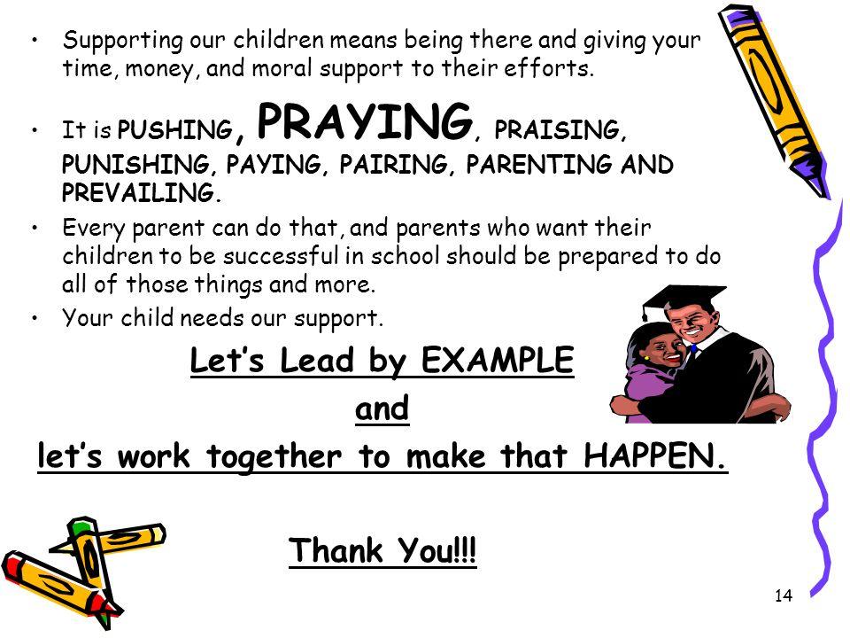 let's work together to make that HAPPEN.