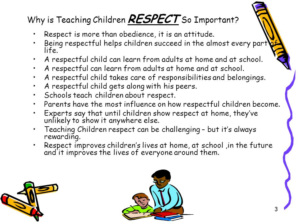 Why is Teaching Children RESPECT So Important