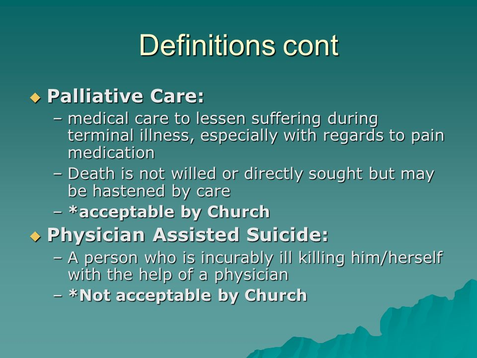 Euthanasia/ Assisted Suicide Or Euthanasia term paper 17551