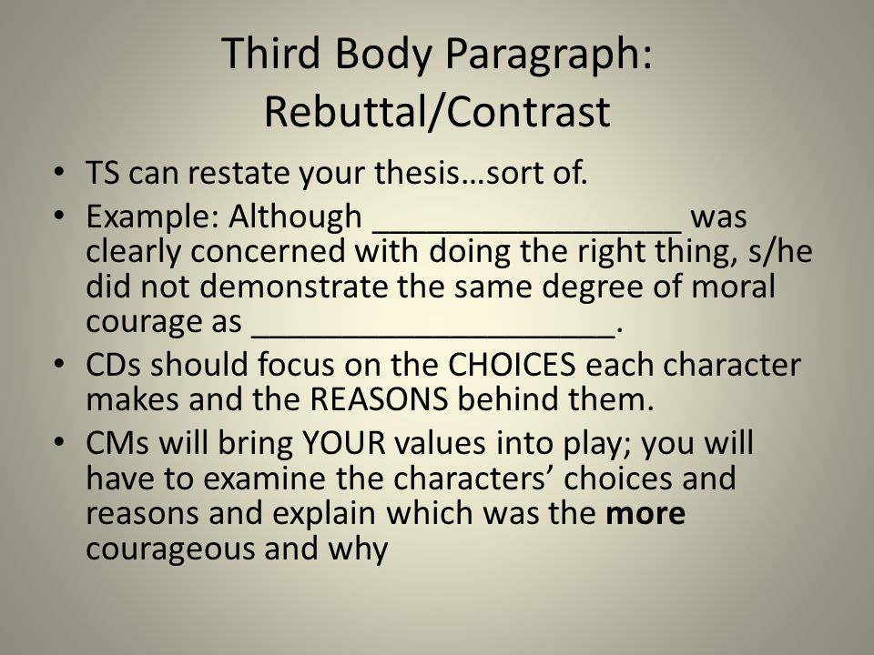 "developing your ""moral courage"" essay ppt video online  10 third"