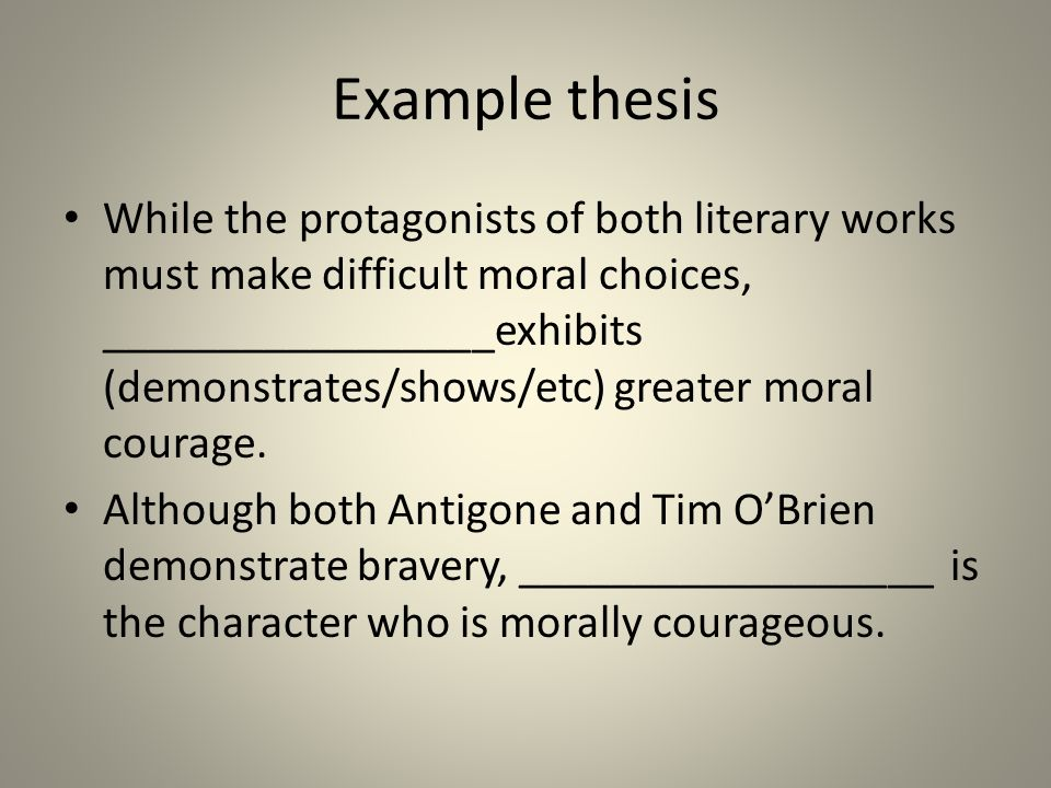 developing your ldquo moral courage rdquo essay ppt 7 example