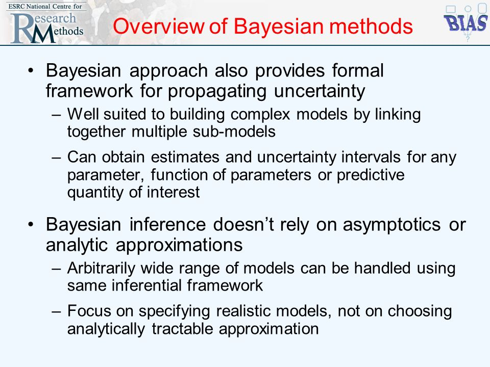Overview of Bayesian methods