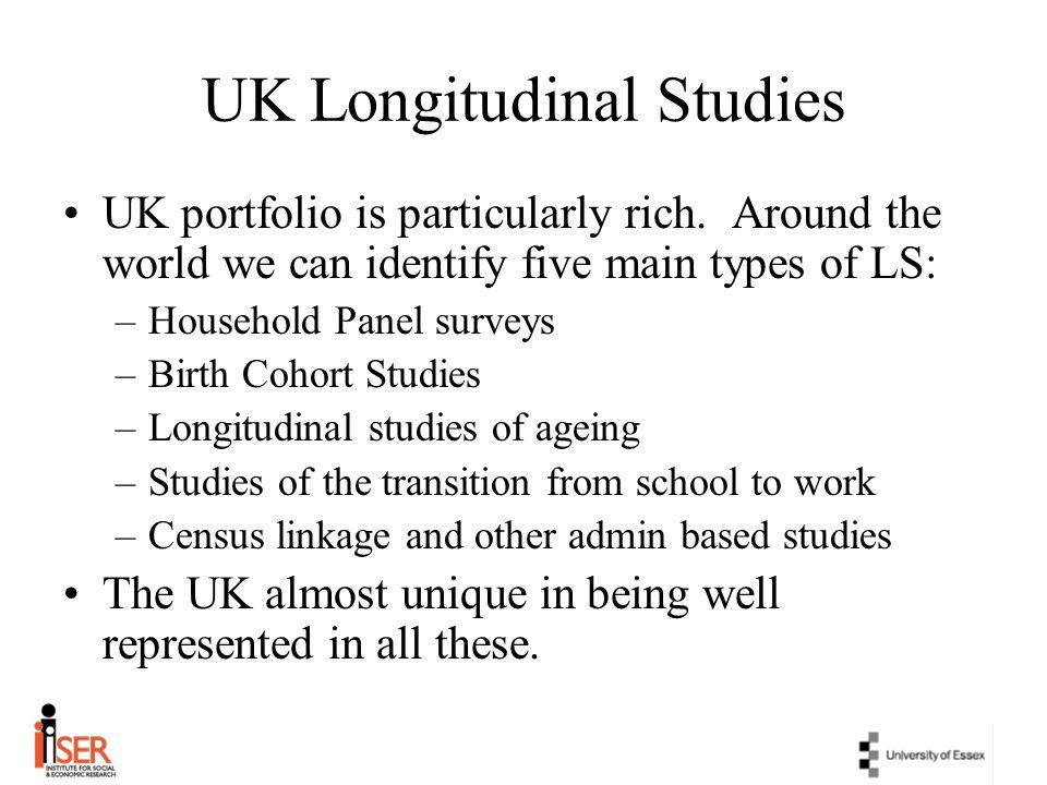UK Longitudinal Studies