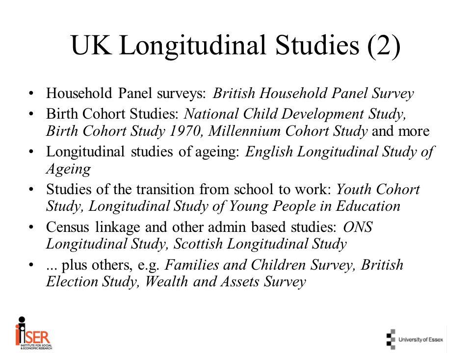 UK Longitudinal Studies (2)