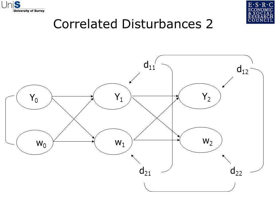 Correlated Disturbances 2