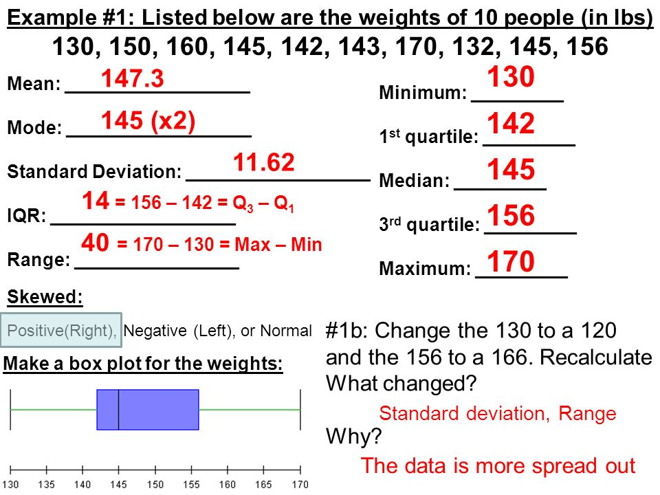 how to find 1st and 3rd quartile
