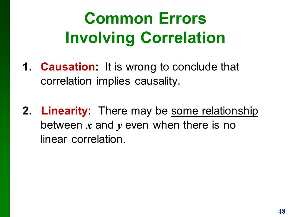 correlation and regression statistics pdf