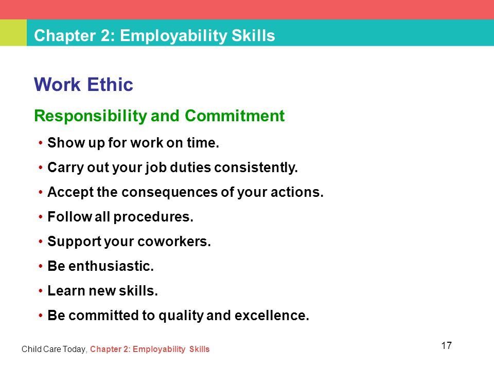 employability skills to work in a To be successful at any long-term job or career you will need to master basic  employability skills employability skills are also considered transferrable skills,.