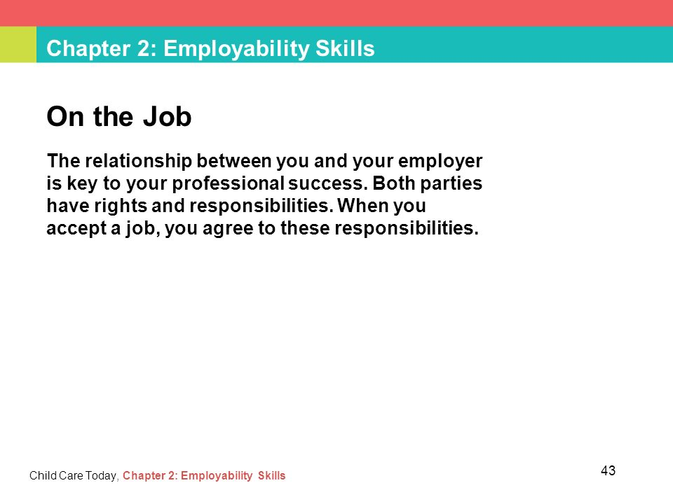 Chapter 2: Employability Skills - ppt download