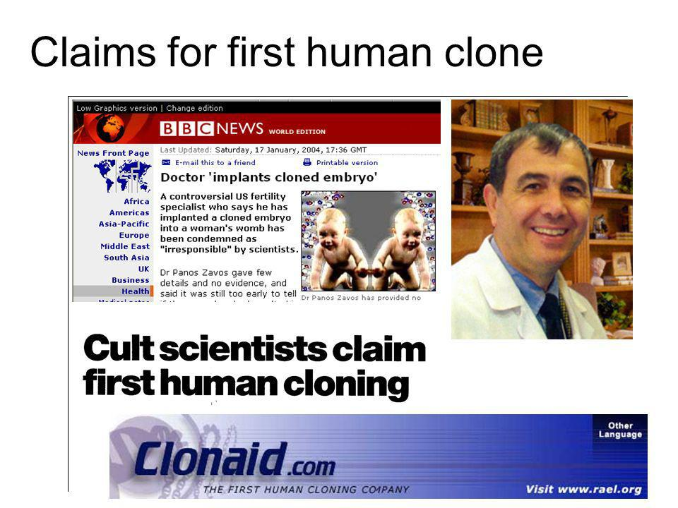 the controversial subject of human cloning Thanks for dropping by human cloning controversy take a look around and grab the human cloning is a very controversial subject and always will be the religious.