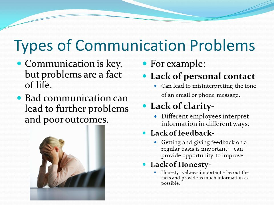 types of communication Communication takes place the moment you see someone, and continues with four other types of communication that can make or break a relationship beware.