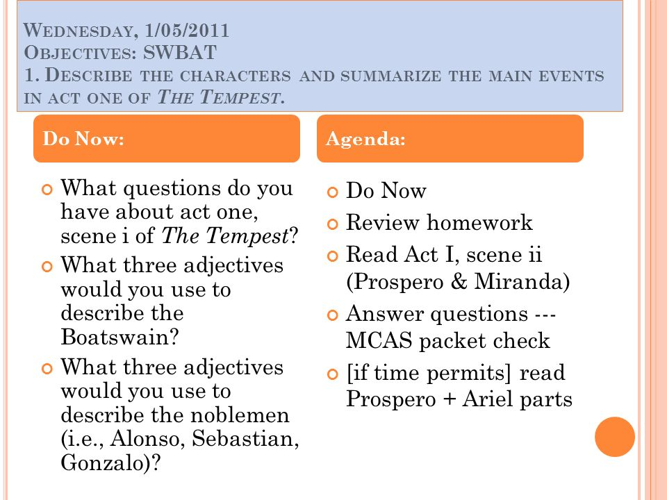 essay questions on the tempest
