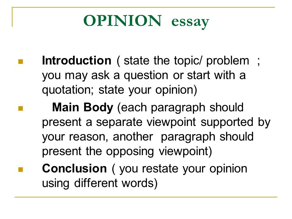 essay of opposing ideas Essay topics essay checker donate a paper opposing viewpoints- vegetarianism when it comes to viewpoints there will always be an opposing side.