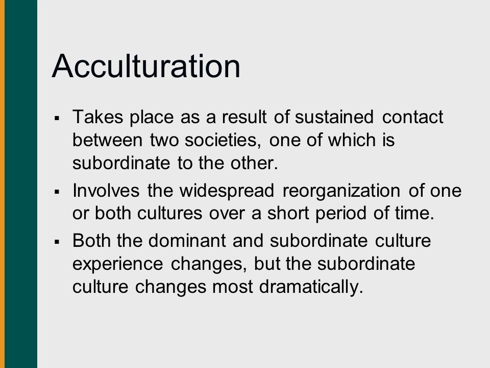 contact between cultures Culture contact: culture contact, contact between peoples with different cultures, usually leading to change in both systems the effects of culture contact are.