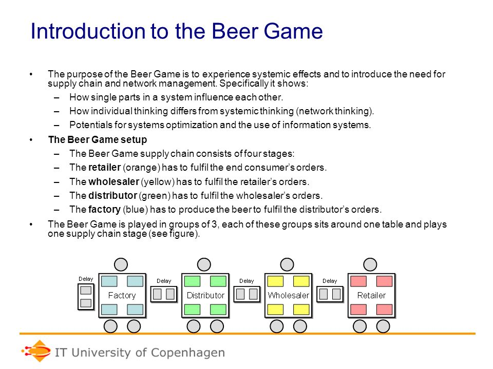 an introduction to the analysis of a beer distributor Analytical model used for calculating the impacts of beer distributor activities    distributors traditional economic impact analysis connects direct activities to .