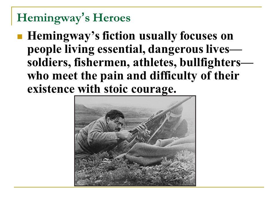 hemingway code hero thesis