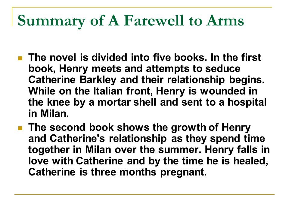 "structure of a farewell to arms A farewell to arms - essay example the paper tells that hemingway provides a prime example of the classic narrative structure within his ""a farewell to arms."
