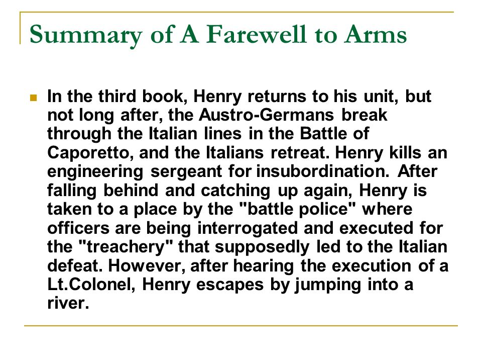 the theme of love in a farewell to arms by ernest hemingway Theme of adoration and confrontation in ernest hemingway's 'a farewell to arms' kssatheesh kumar.