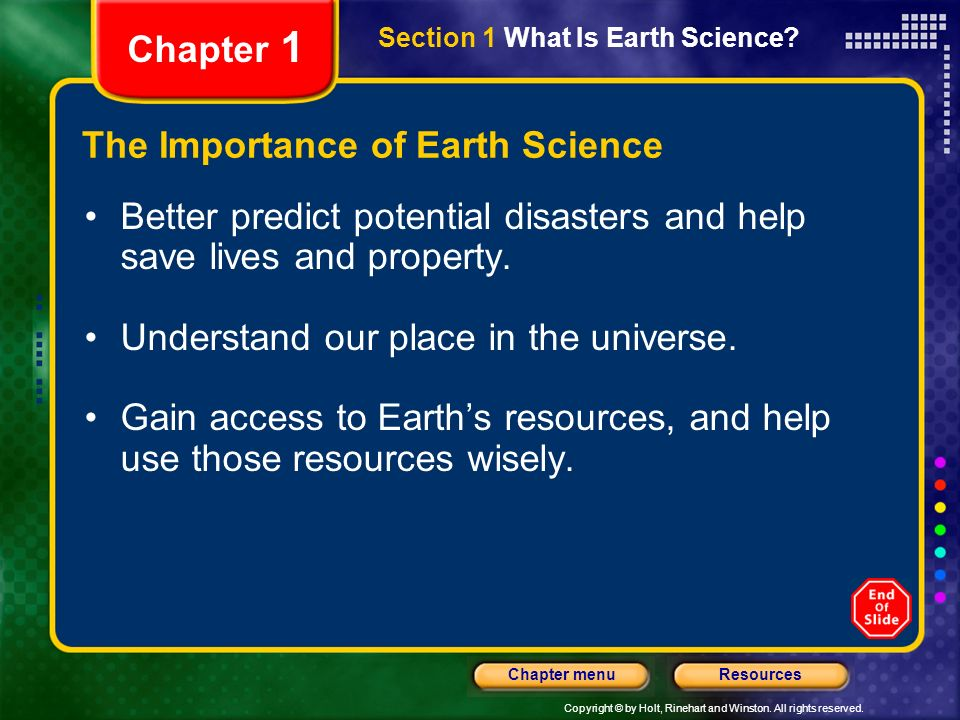 What Is the Importance of Environmental Science?