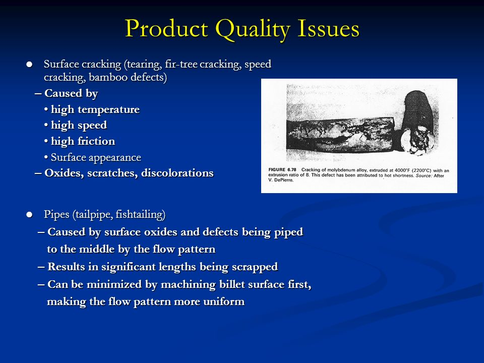 Product Quality Issues on Spark Plug Wire Cross Section