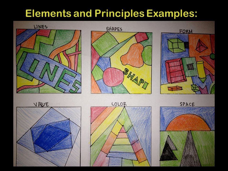 "7 Elements Of Art Examples : Art for new media agenda sketchbook assignment ""good"