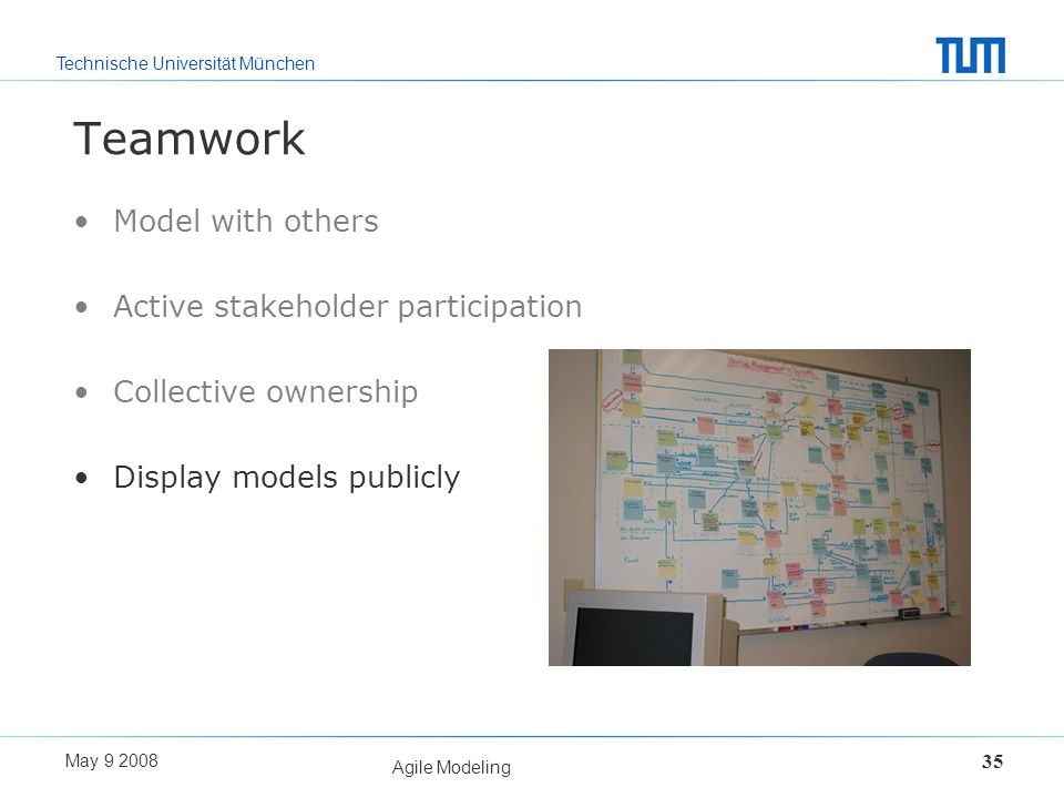 Teamwork Model with others Active stakeholder participation