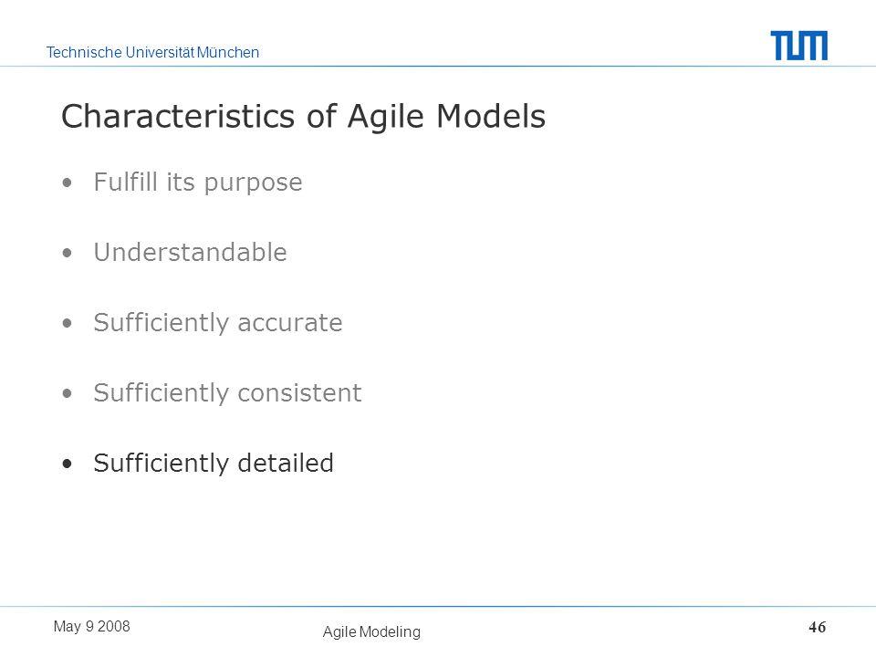 Characteristics of Agile Models