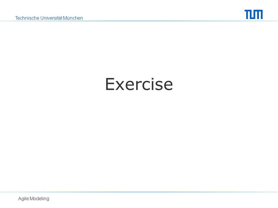 Exercise Agile Modeling