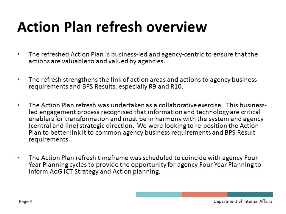 ICT Action Plan Refresh - ppt download