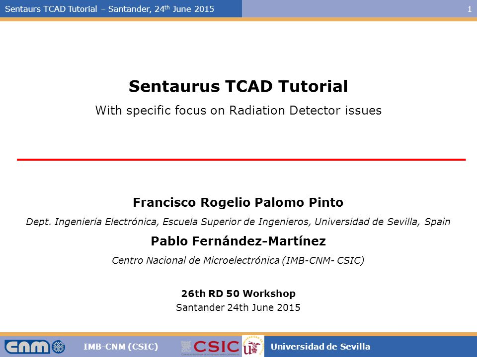 2. Semiconductor fundamentals illustration with tcad — devices v1.