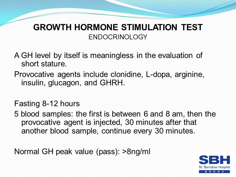 Stimulation Testing