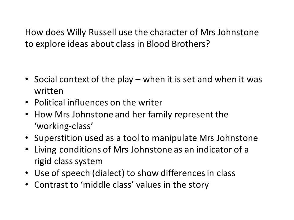 how does willy russell use minor A secondary school revision resource for gcse english literature about the characters of willy russell's for minor things the teacher does not bother.