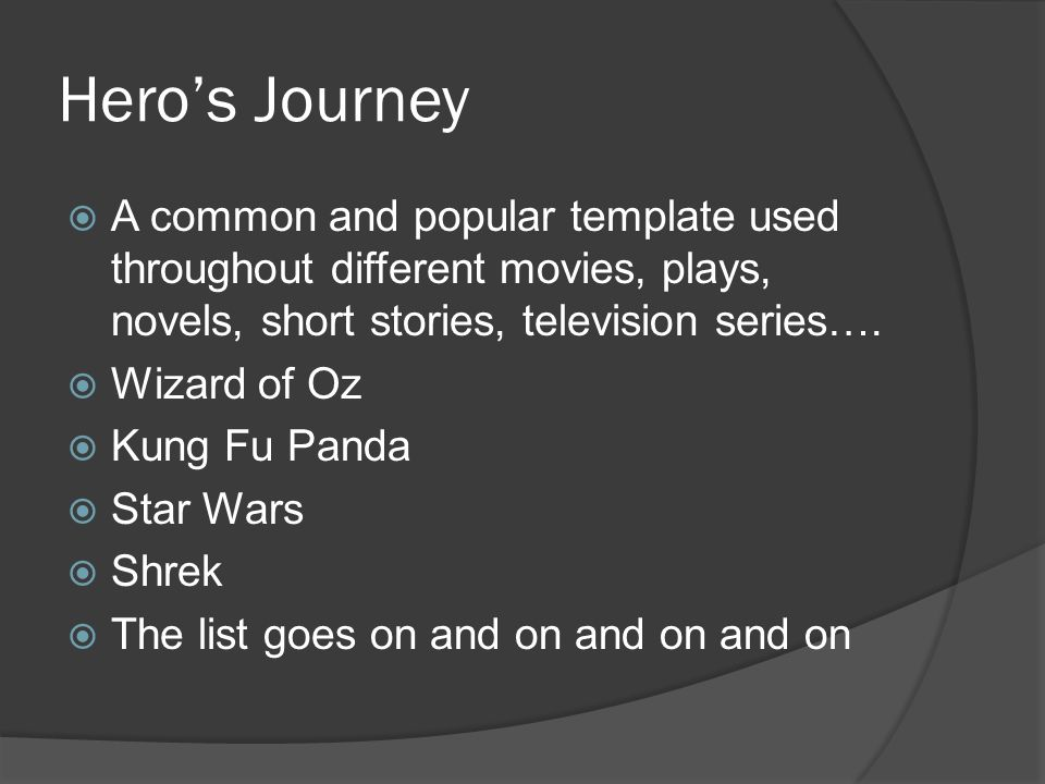 I can apply the hero's journey to complex texts. - ppt download