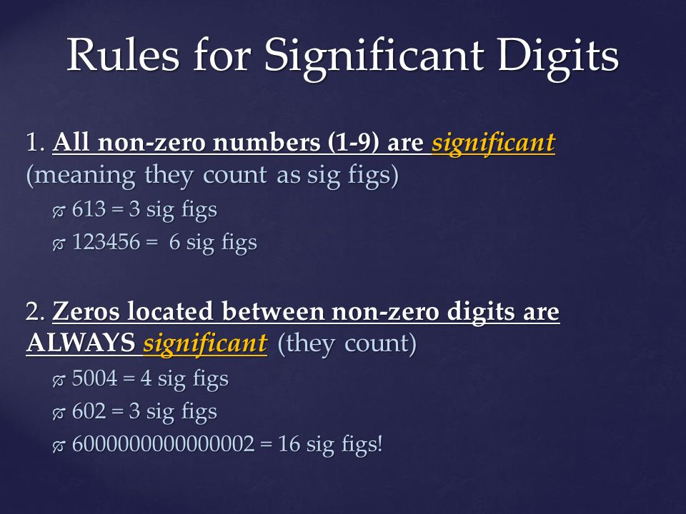 Significant Figures & Scientific Notation - ppt download