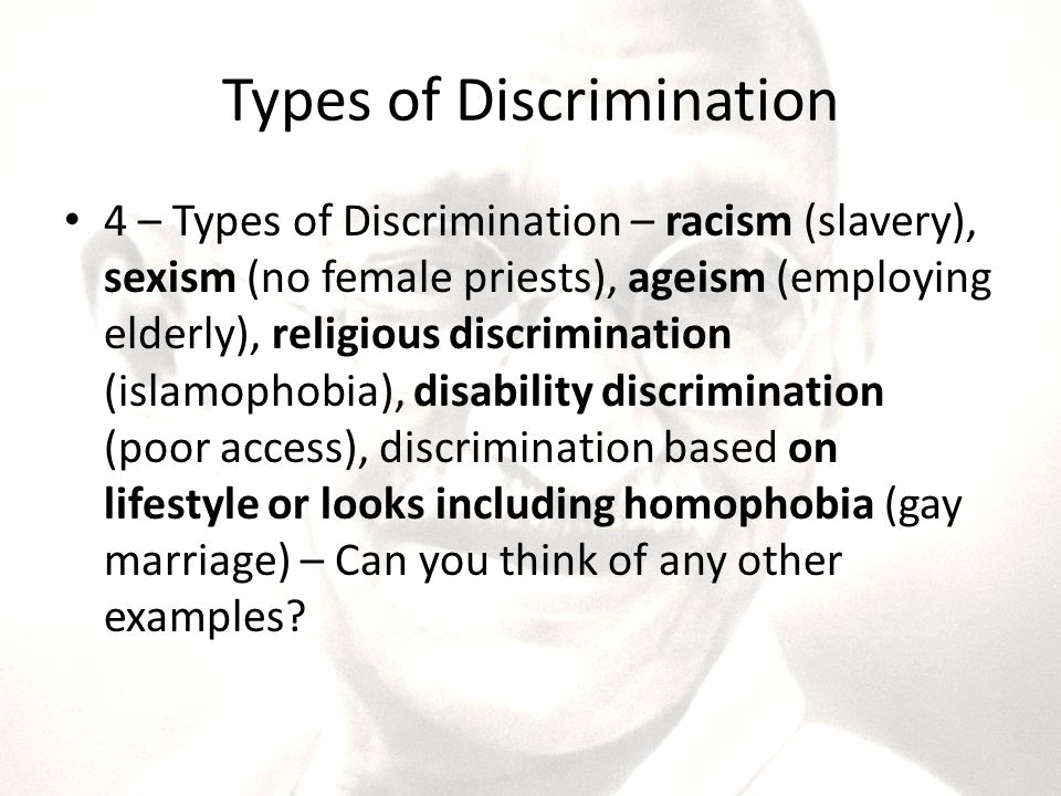 types of racism The fact of the matter is, there's no one specific kind of racism or racist there are  many types of racists, and they come in all forms, from the.