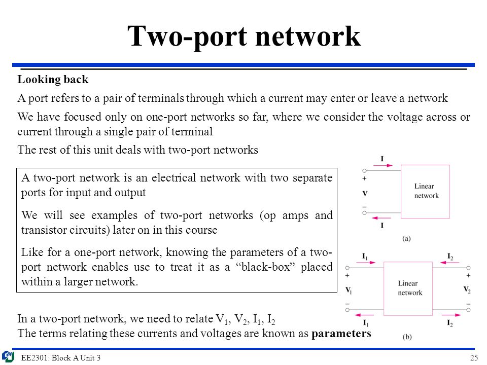 two port network theory pdf