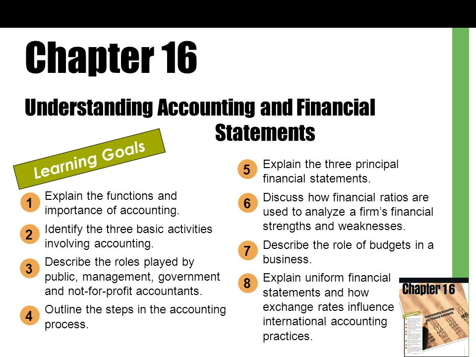 accounting involves analysis Chapter 15 financial statement analysis the first chapter of the accounting textbook accounting process involves identifying and analyzing.
