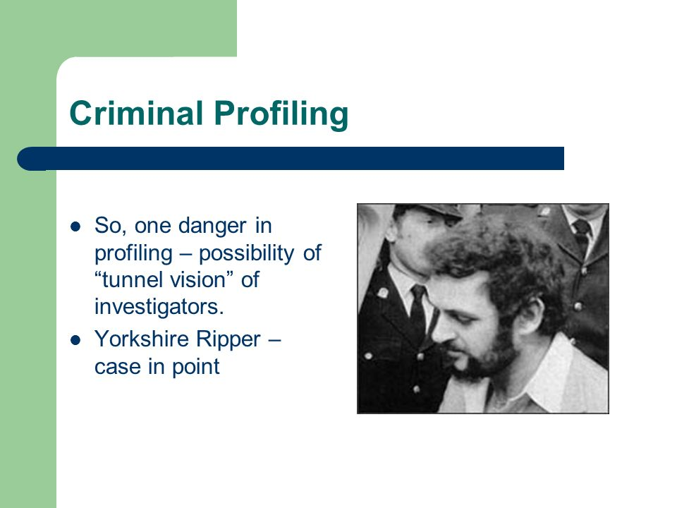 offender profiling are we all crackers ppt video online 8 criminal profiling