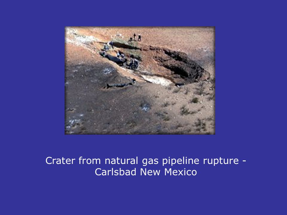 Natural Gas Pipeline Leak New Mexico