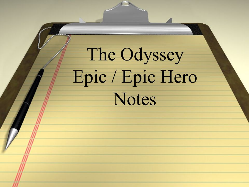 why odysseus is an epic character Free essay: is odysseus an epic hero is odysseus, the main character of homer's the odyssey, really an epic hero an epic hero embodies several heroic.