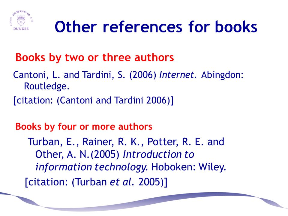 Referencing sandra charles february ppt video online download books by two or three authors ccuart Image collections