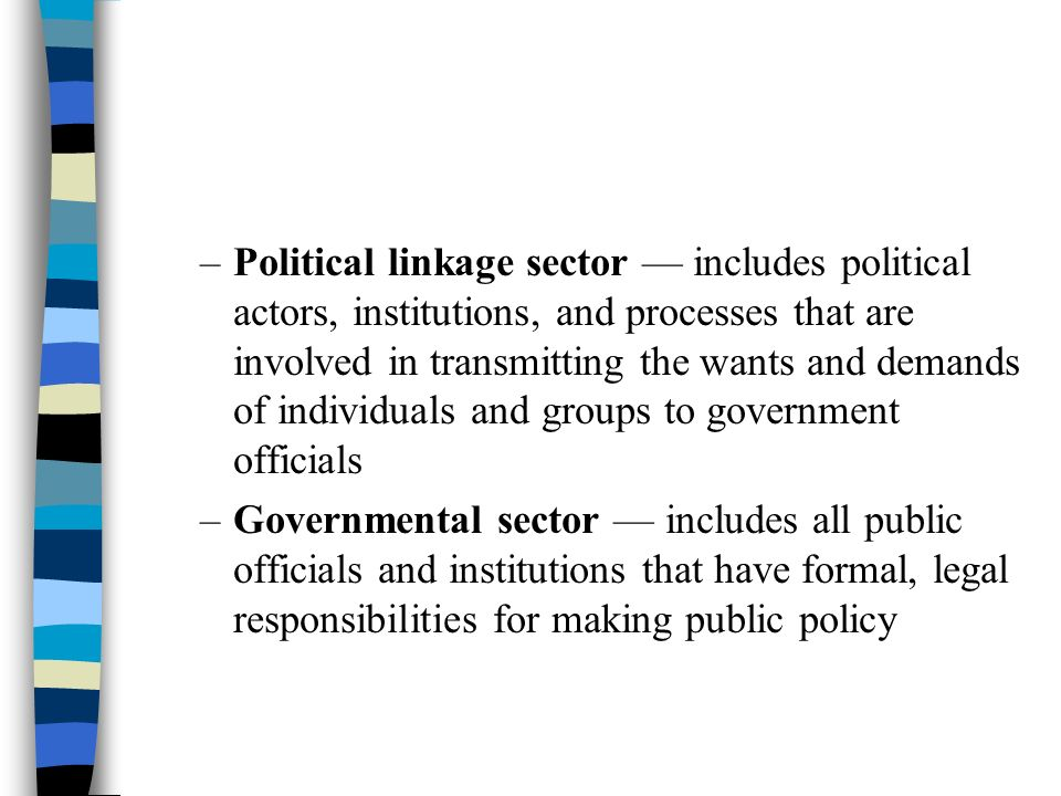 an analysis of political system in american government The public's criticisms of the political system run the gamut, from a failure to hold  elected officials accountable to a lack of transparency in.