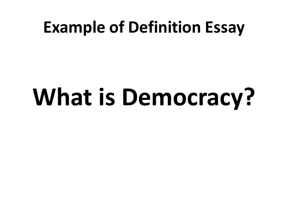 Write a short note on democracy